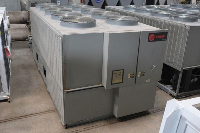 Used 100 Ton Trane RTAA100 Air Cooled Surplus Used Chiller