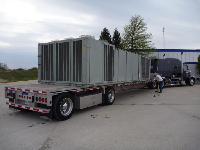 Used 60 Ton, Un-Used, Trane Air Conditioner RTU Model SAHFF604