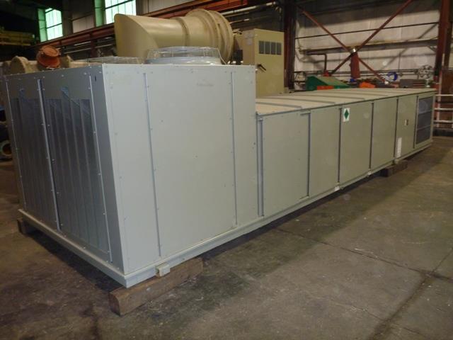 20 Ton, Un-Used, Trane Air Conditioner RTU Model SLHFF20 W/Hot Water Heat