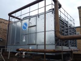 Used 870 Nominal Ton Used Baltimore Air Coil BAC Model 3436A-2 Cross-Flow Cooling Tower