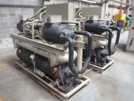 Used Reconditioned - Refurbished Trane RTWA080 Water Cooled Surplus Screw Chiller