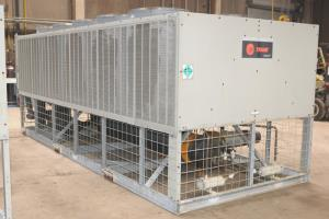 Used 110 Ton Trane RTAA110 Air Cooled Surplus Used Chiller