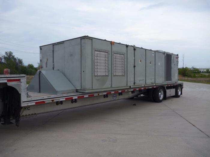 Used 60 Ton Un Used Trane Air Conditioner Rtu Model Sahff604