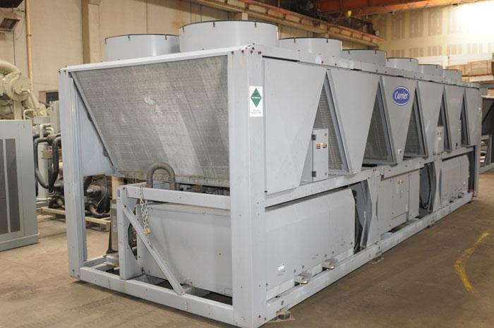Used 180 Ton Carrier 30xaa180 Air Cooled Surplus Used Chiller